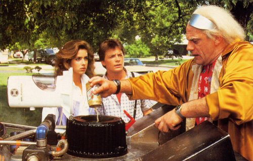 Refueling-doc-brown-trash-back-to-the-future-tank-phoenix-arizona-valley